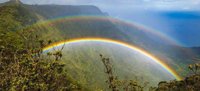 Народные приметы о радуге и легенды мира