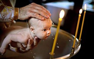 Крестить ребенка не в церкви, а дома?