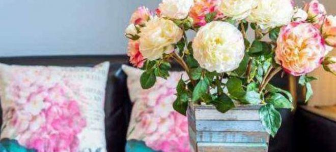 Можно ли держать дома искусственные или сухие цветы