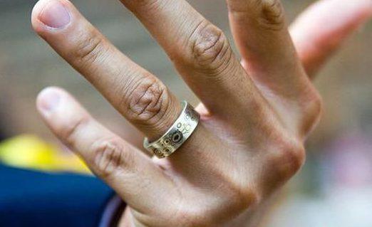можно ли носить обручальное кольцо мужа