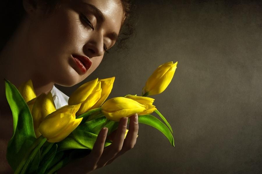 Букет желтых цветов смысл подарка