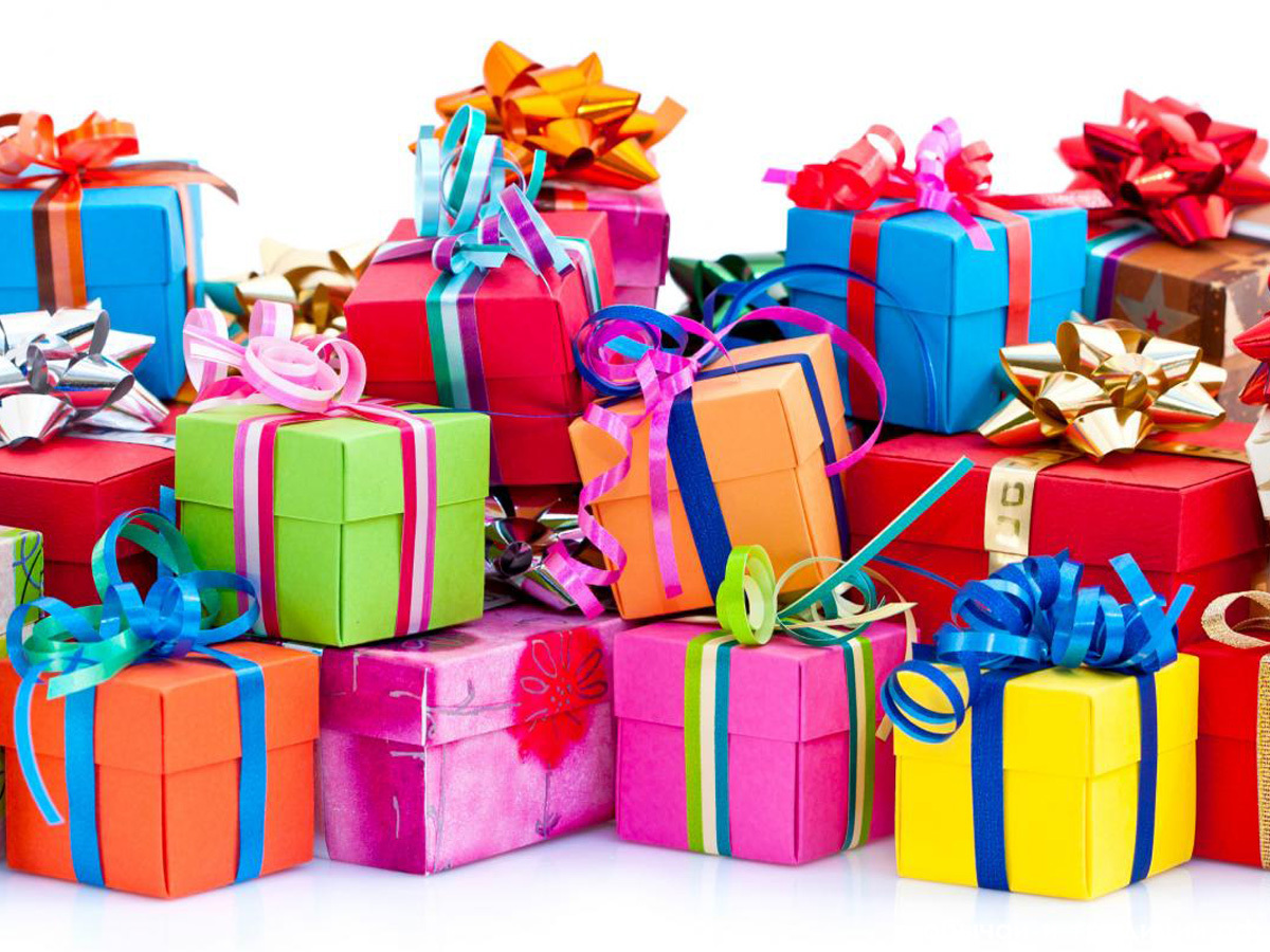 Открытки поздравления, подарки в день рождения картинки
