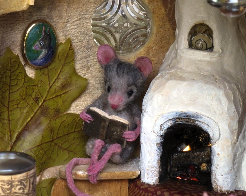 мышь в доме примета