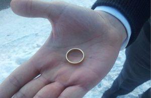 найти золотое кольцо примета