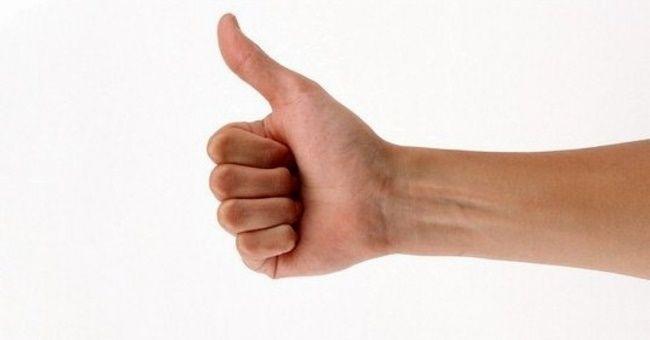 чешется большой палец правой руки