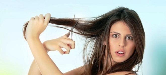 почему нельзя стричь волосы самой себе