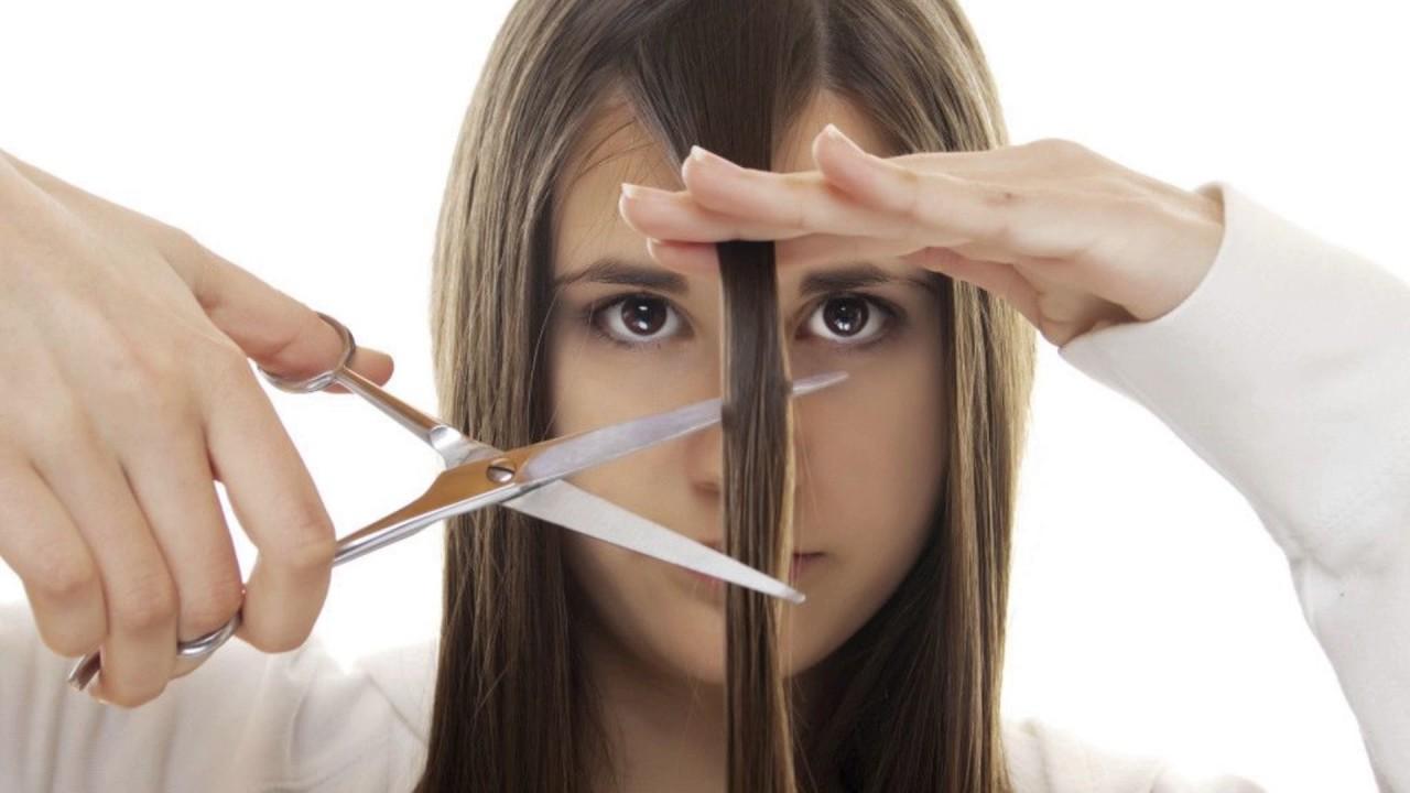 Подровнять кончики волос в домашних условиях пошагово